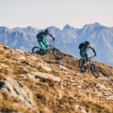 The Almtrail is a singletrail in the bike area Serfaus-Fiss-Ladis in Tyrol Austria | © christianwaldegger.com
